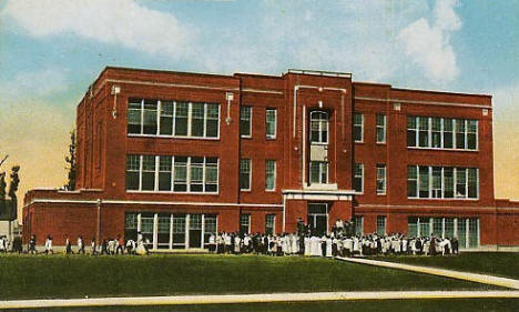 New High School, Baudette Minnesota, 1920's