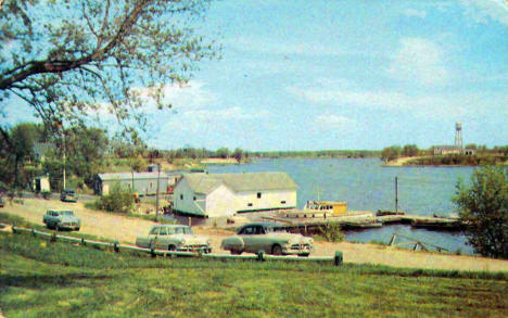 Bay and Harbor, Baudette Minnesota, 1950's