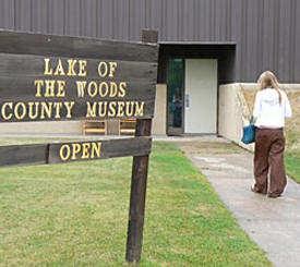 Lake of the Woods County Historical Society, Baudette Minnesota