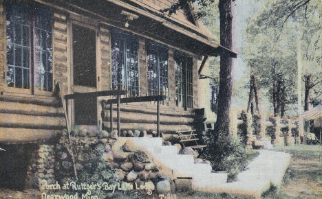 Ruttger's Bay Lake Lodge, Bay Lake Minnesota, 1939