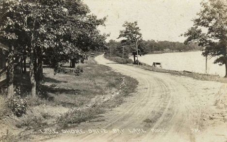 Lake Shore Drive, Bay Lake Minnesota, 1926