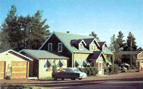 A Bit of Norway Restaurant, Beaver Bay Minnesota, 1960's