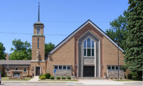 St. Francis de Sales Catholic Church, Belgrade Minnesota, 2009