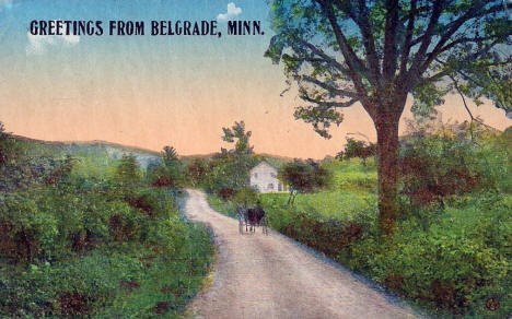 Greetings from Belgrade Minnesota, 1915