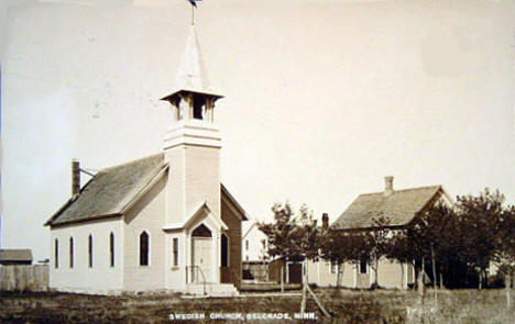 Swedish Church, Belgrade, Minnesota, 1911