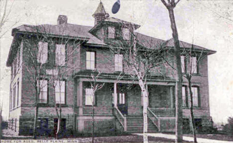 Home for the Aged, Belle Plaine Minnesota, 1900's