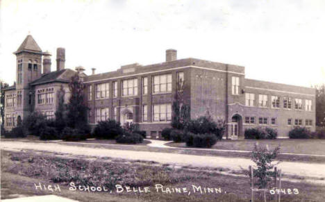 High School, Belle Plaine Minnesota, 1943