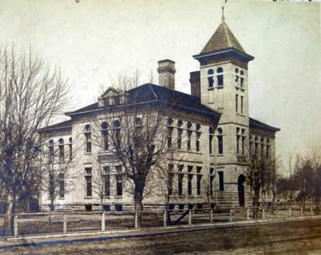 Public School, Belle Plaine Minnesota, 1907