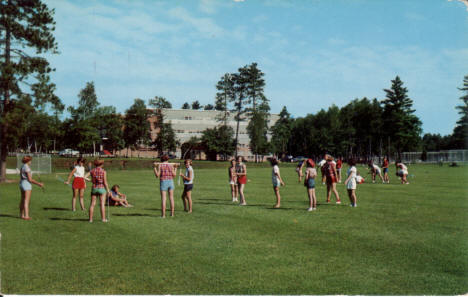 Band Clinic at Bemidji State Teachers College, Bemidji Minnesota, early 1960's