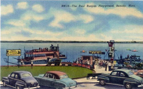 The Paul Bunyan Playground, Bemidji Minnesota, 1953