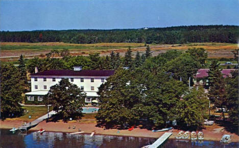 Ruttger's Birchmont Lodge on Lake Bemidji, Bemidji Minnesota, 1960's