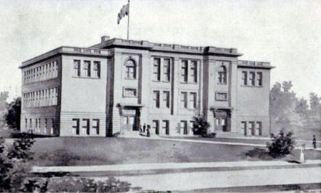 Central High School, Bemidji Minnesota, 1910's