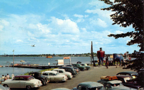 Lakefront at Bemidji Minnesota, 1954