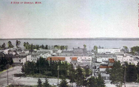 General View, Bemidji Minnesota, 1908