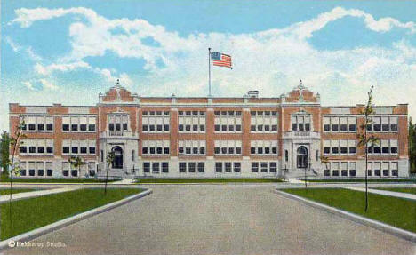High School, Bemidji Minnesota, 1922