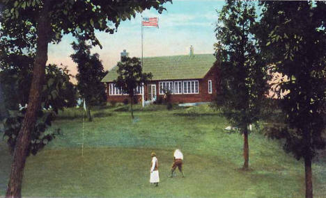 Club House and Golf Course, Bemidji Minnesota, 1933
