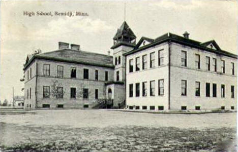 High School, Bemidji Minnesota, 1909