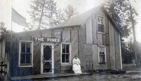 The Pines Resort, Bena Minnesota, 1918