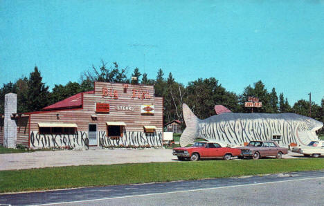 Big Fish Supper Club, Bena Minnesota, 1960's