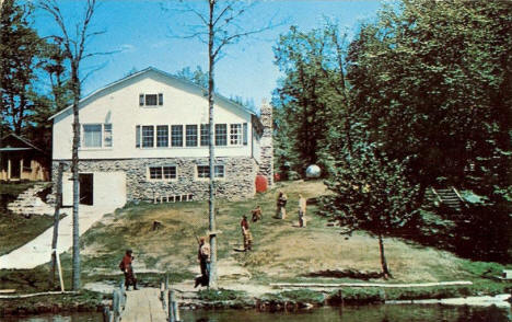 Lodge at Iowana Beach Resort, Bena Minnesota, 1960's