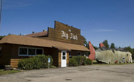 The Big Fish Supper Club, Bena Minnesota, 2008