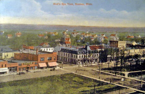 Birds eye view, Benson Minnesota, 1914