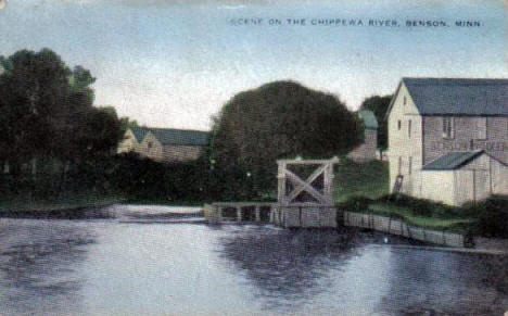 Chippewa River, Benson Minnesota, 1909