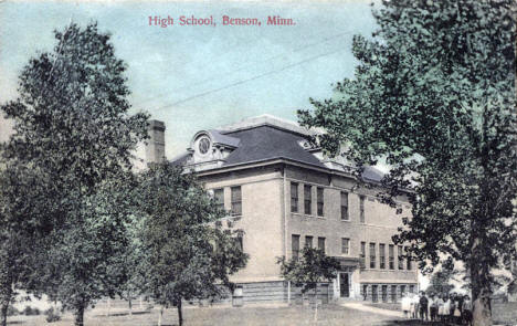 High School, Benson Minnesota, 1913