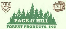 Page & Hill Forest Products, Big Falls Minnesota