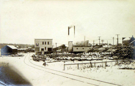 Cooperage Plant, Blackduck Minnesota, 1912