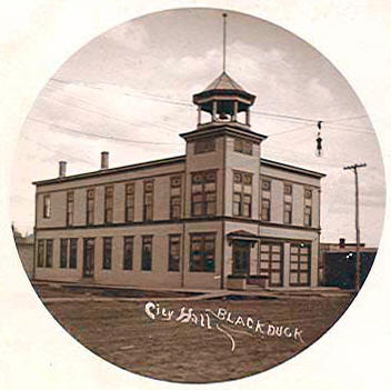 City Hall, Blackduck Minnesota, 1906