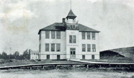 Public School, Blackduck Minnesota, 1910's?