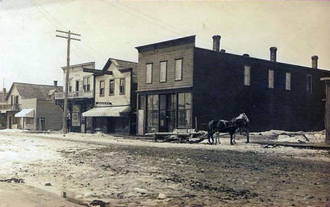 Street scene, Blackduck Minnesota, early 1910's?