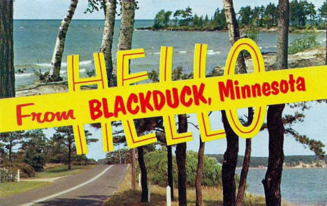 Hello from Blackduck Minnesota, 1961