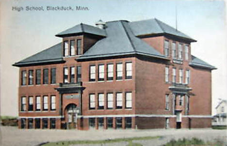 High School, Blackduck Minnesota, 1917