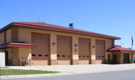 Fire Department, Blooming Prairie Minnesota, 2010