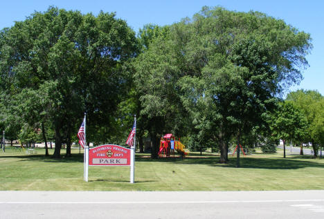 Blooming Prairie Fire Department Park, Blooming Prairie Minnesota, 2010
