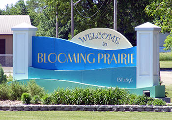 Welcome to Blooming Prairie Minnesota!
