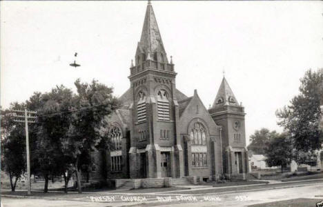 Presbyterian Church, Blue Earth Minnesota, 1940's