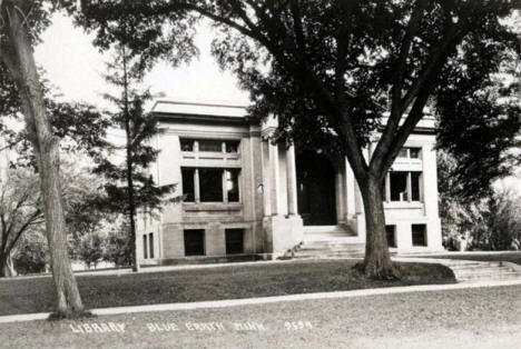 Library, Blue Earth Minnesota, 1915