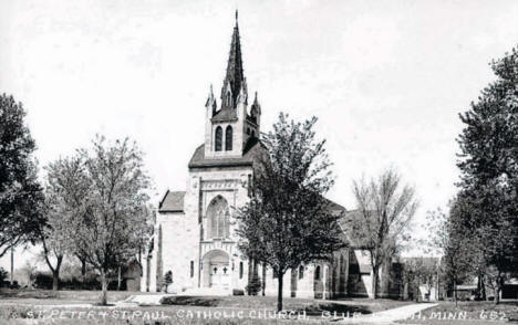 St. Peter and St. Paul Catholic Church, Blue Earth Minnesota, 1939