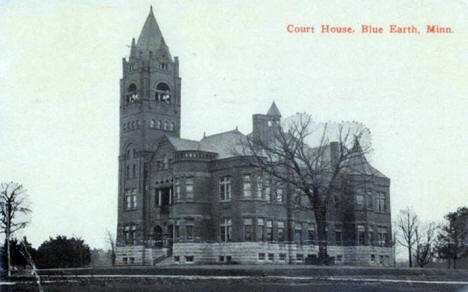 Court House, Blue Earth Minnesota, 1923