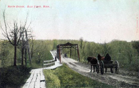 North Bridge, Blue Earth Minnesota, 1909