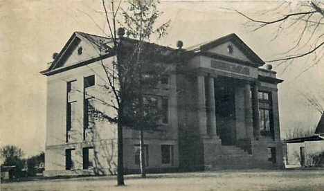 Public Library, Blue Earth Minnesota, 1912