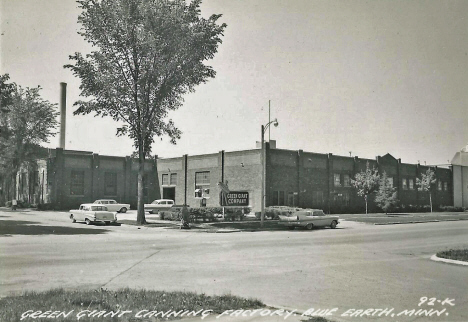 Green Giant Canning Factory, Blue Earth Minnesota, 1950's