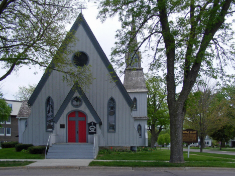 Episcopal Church of the Good Shepard, Blue Earth Minnesota, 2014