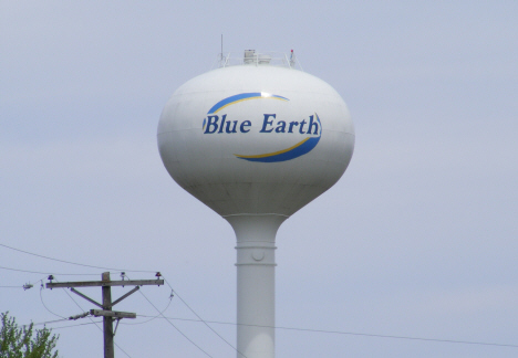 Water Tower, Blue Earth Minnesota, 2014