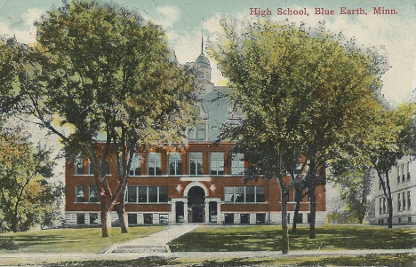 High School, Blue Earth Minnesota, 1915