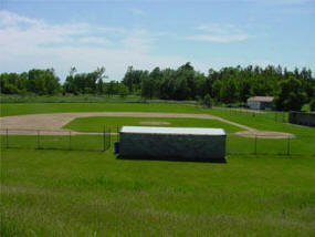 Ball field, Bluffton Minnesota