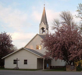 Jevnaker Lutheran Church, Borup Minnesota